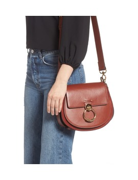 Medium Tess Calfskin Leather Shoulder Bag by ChloÉ