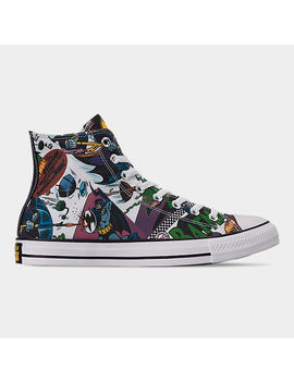 Men's Converse Chuck Taylor All Star Batman High Top Casual Shoes by Converse