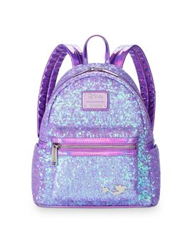 Ariel Sequined Mini Backpack By Loungefly – The Little Mermaid | Shop Disney by Disney