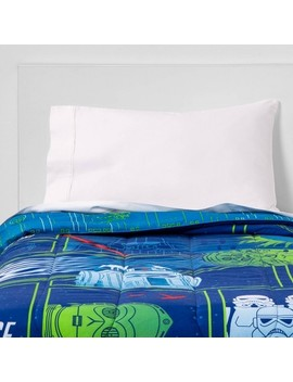 Star Wars Glow In The Dark Comforter Blue by Shop Collections