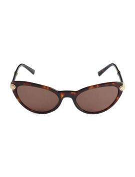 54 Mm Cat Eye Sunglasses by Versace