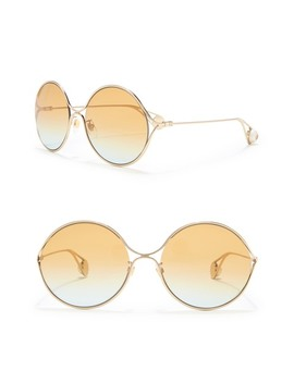 60mm Round Sunglasses by Gucci