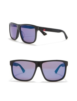 59mm Rectangle Sunglasses by Gucci