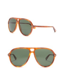 59mm Navigator Sunglasses by Gucci