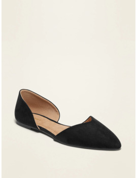 Pointy Toe D'orsay Flats For Women by Old Navy
