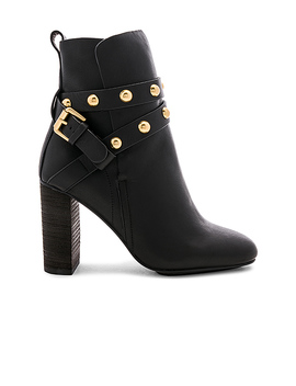 Stud Bootie In Nero by See By Chloe