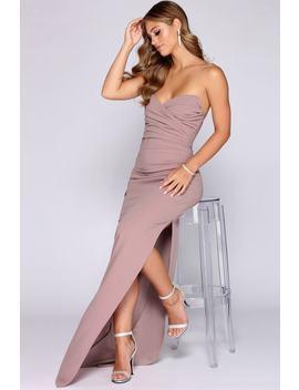 Marianne Pleated Sweetheart Dress by Windsor