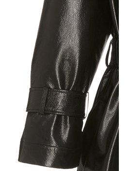 Oversized Leather Coat by David Koma