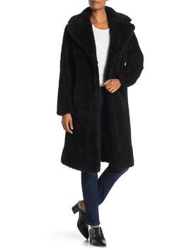 Cozy Faux Fur Coat by Avec Les Filles
