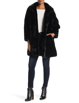 Faux Fur Coat by Love Token