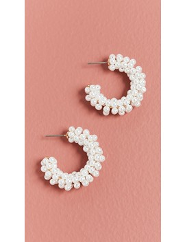 Pacific Hoop Earrings by Bauble Bar