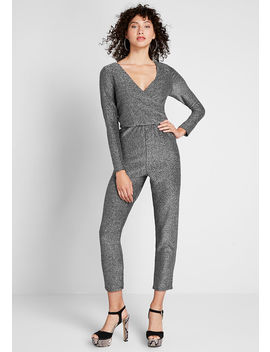 Shine Away Sparkle Jumpsuit by Modcloth