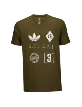 Adidas Originals Badges T Shirt by Champs Sports