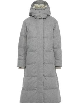 Jenset Quilted Wool Blend Down Hooded Coat by Rag & Bone