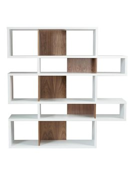 Twomey Composition Geometric Bookcase by Allmodern