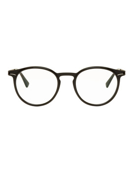 Black Dd2.3 Glasses by Mykita