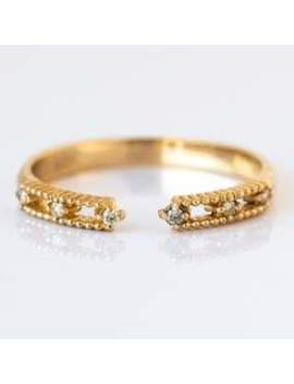 Solid Gold Like Meteors Ring Solid Gold Like Meteors Ring by Merewif