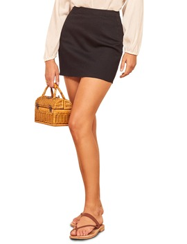 Evie Miniskirt by Reformation