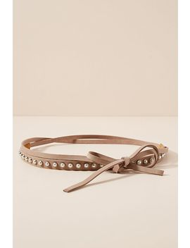 Evita Pearl Wrap Belt by Ada
