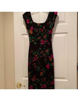 Vintage Betsy Johnson Velvet Maxi Dress by Betsey Johnson