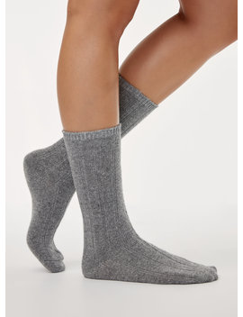 Cozy Ribbed Sock by Main Character