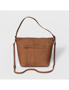 Women's Campbell Hobo Crossbody Bag   Universal Thread™ Cognac by Universal Thread