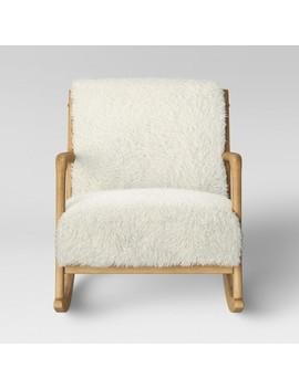 "<Span><Span>Esters Wood Arm Chair Sherpa White   Project 62</Span></Span><Span Style=""Position: Fixed; Visibility: Hidden; Top: 0px; Left: 0px;"">…</Span> by Project 62…"
