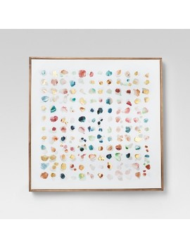 Framed Abstract Watercolor Wall Canvas 24 X 24   Project 62™ by Shop Collections