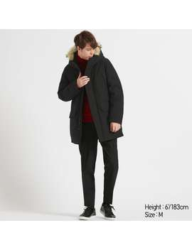 Hybrid Down Ultra Warm Coat by Uniqlo