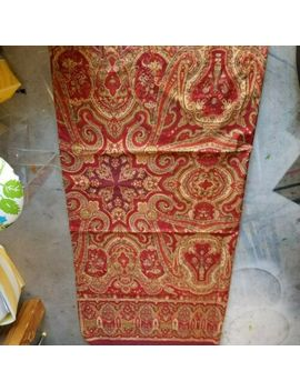 """Pottery Barn """"Red Paisley Medallion"""" Fabric Shower Curtain by Pottery Barn"""