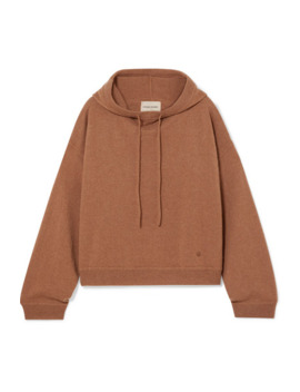 Linosa Cashmere Hoodie by Loulou Studio