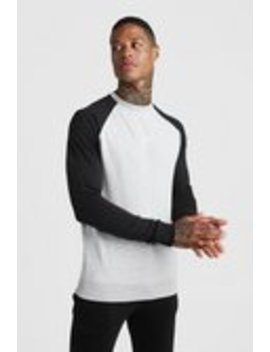 Man Skinny Fit Active Sweater by Boohoo Man