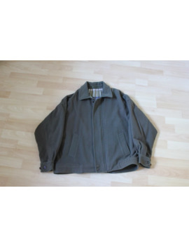 Vintage Green Wool Burberry Jacket by Vintage  ×  Burberry  ×