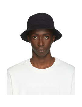 Black New Era Edition Logo Bucket Hat by Song For The Mute