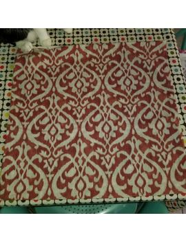 "Pottery Barn ""Red Ikat"" 20"" Pillow Cover by Pottery Barn"