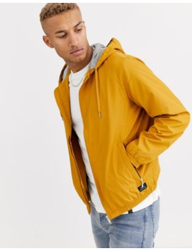 Pull&Amp;Bear Lightweight Jacket In Mustard by Pull&Bear