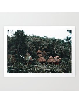 Dominican Republic Art Print by Society6