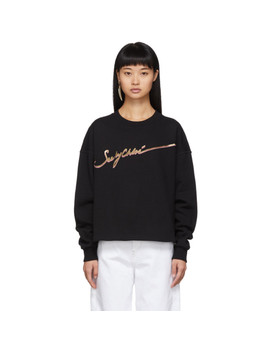 Black Logo Sweatshirt by See By ChloÉ