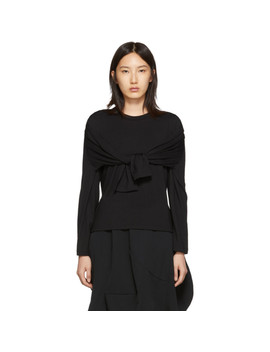 Black 4 Sleeve T Shirt by Comme Des GarÇons