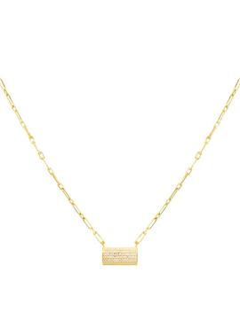 Thick Bar Link Necklace by Adina's Jewels