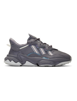 Grey Ozweego Sneakers by Adidas Originals