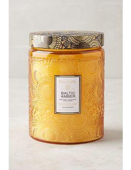 Voluspa Limited Edition Cut Glass Jar Candle by Voluspa