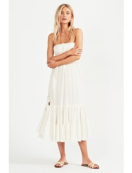 Marsi Midi Dress   Blanc by Tigerlily