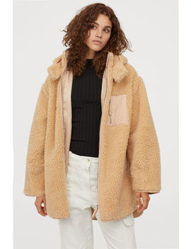 Oversized Pile Jacket by H&M