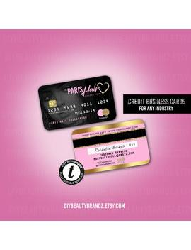 Credit Card Styled Discount Card 1 , Business Card by Etsy