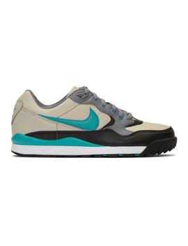 Grey Acg Air Wildwood Sneakers by Nike