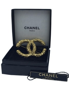 Gold Pin by Chanel