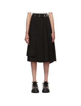 Black Large Pocket Skirt by Prada