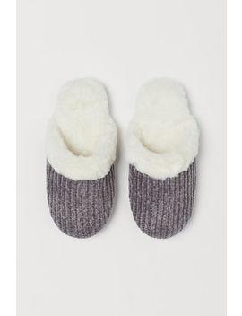 Pantofole Con Fodera Calda by H&M