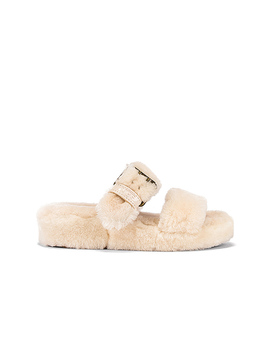 Fuzz Yeah Slide In Natural by Ugg